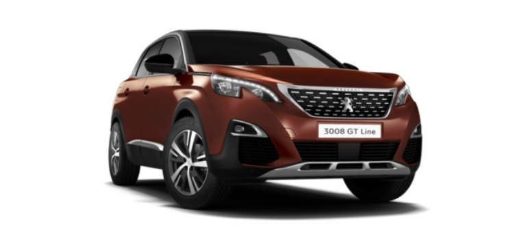 Peugeot 3008 SUV GT Line HYBRID 225 e-EAT8 Business Offer