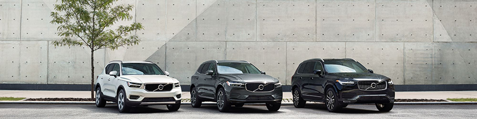 THE VOLVO SUV RANGE