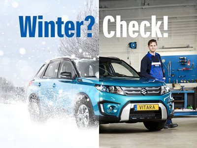 Startin Suzuki – Super Winter Check