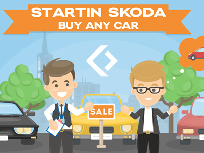 Startin Skoda Buy Any Car!