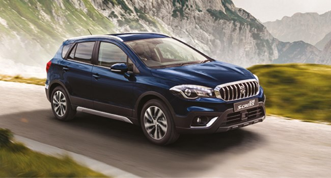 SX4 S-Cross at Sherwoods