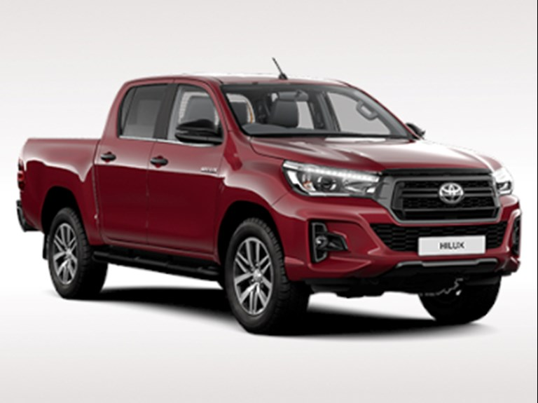 Hilux Invincible X (Hire Purchase)