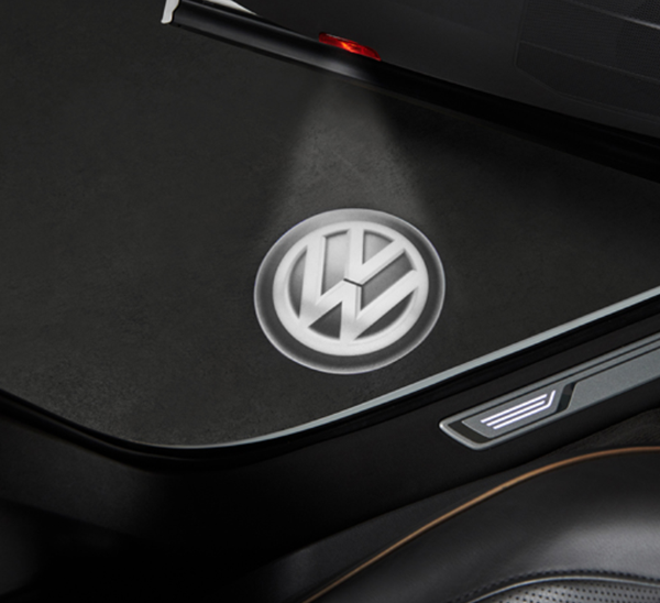 Personalise your car with the Volkswagen LED Logo light kit for only £99