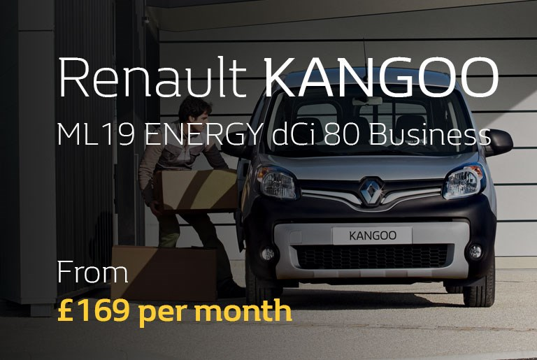 Renault Kangoo From £169 per month