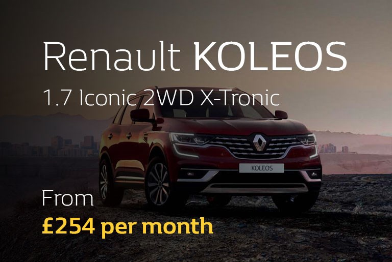 Renault KOLEOS From £254 per month