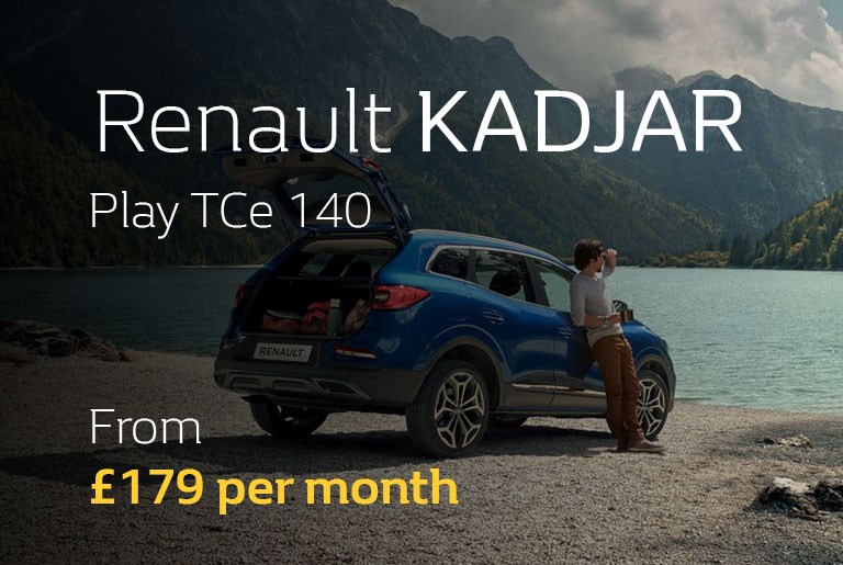 Renault KADJAR From £254 per month