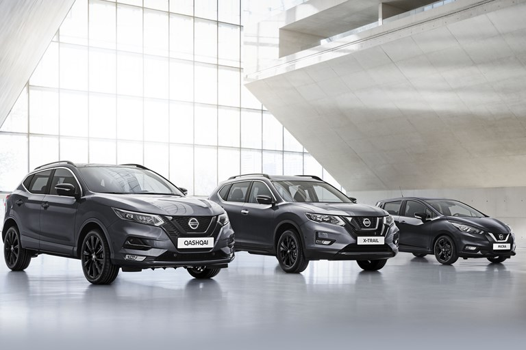 Eye-catching design and high-end technologies to start the new decade with Nissan N-TEC Edition