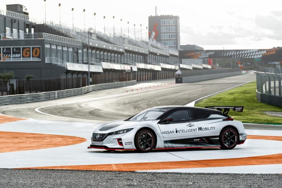 Nissan brings excitement from the road to the track with LEAF NISMO RC - unleashed for the first time in Europe