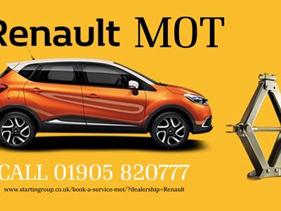 Startin Renault Reduction Code On MOTs!