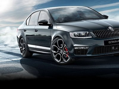 Skoda Octavia EST 2.0 TSI 245 VRS BLACK PACK DSG – £3,885 Customer Saving