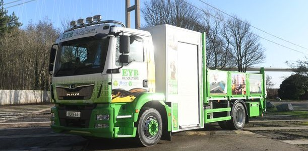 Local oil recycling company takes delivery of bespoke MAN TGM