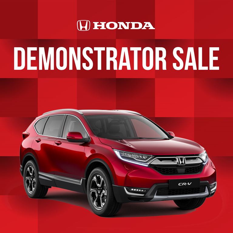 Honda Demo Sale