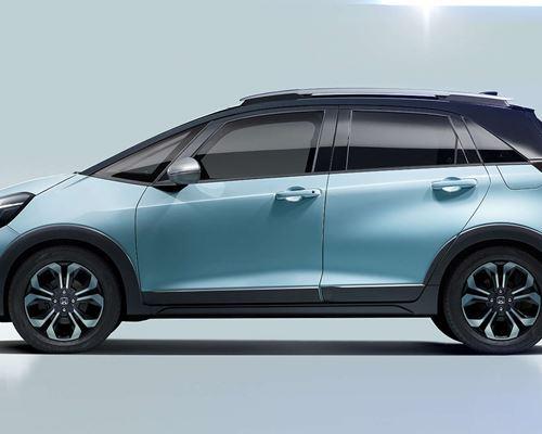 New Honda Jazz Hybrid