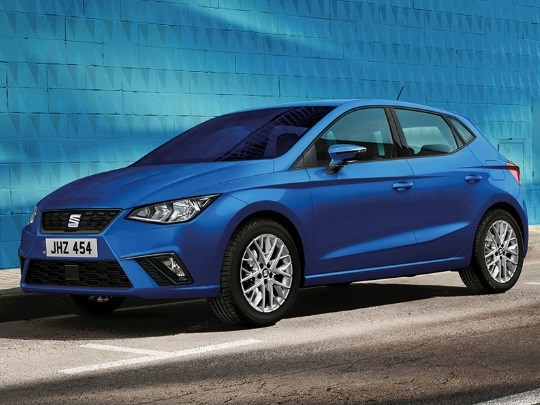 The SEAT Ibiza with up to £1,750 towards your deposit**