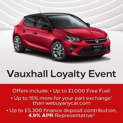 Vauxhall Loyalty Event