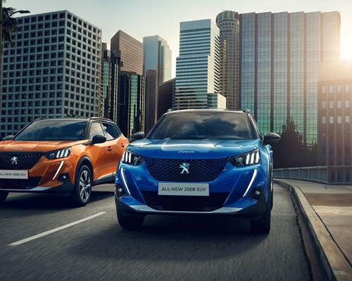 All-New Peugeot e-2008 SUV