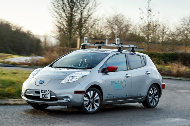 Nissan Leaf Completes the UK's Longest and Most Complex Autonomous Car Journey