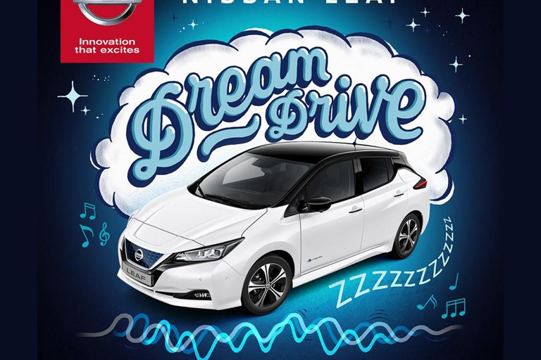 Nissan Leaf 'Dream Drive' Is World-First 'Zero-Emission' Lullaby Designed for Electric Vehicles