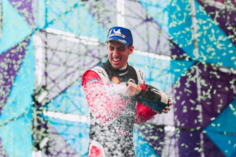 Nissan e.dams scores Formula E podium in Mexico City