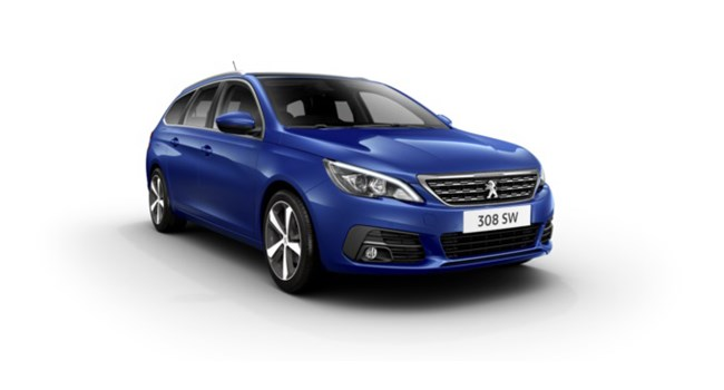 Peugeot 308 SW at Sherwoods