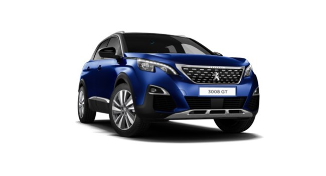 Peugeot 3008 SUV at Sherwoods