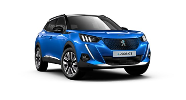All-New Peugeot e-2008 SUV at Sherwoods