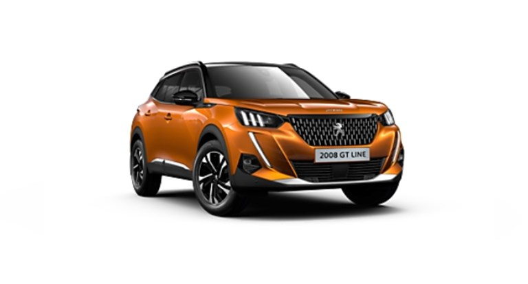 All-New Peugeot 2008 SUV GT Line Electric 50 kWh 136 Business Offer