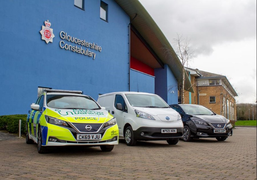 EV-ening all! Gloucestershire police are on a charge with 75 new Nissan electric vehicles