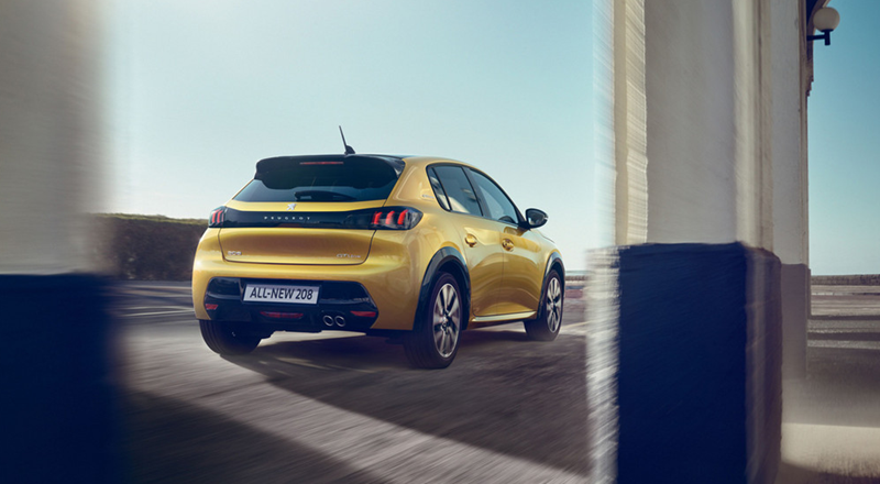 All-New Peugeot 208 Motability Offer