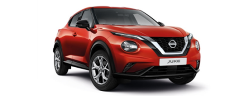 NEXT GENERATION NISSAN JUKE BUSINESS CONTRACT HIRE OFFER