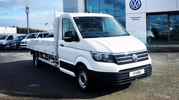 Volkswagen Crafter CR35 Dropside LWB 2.0 TDI 140ps