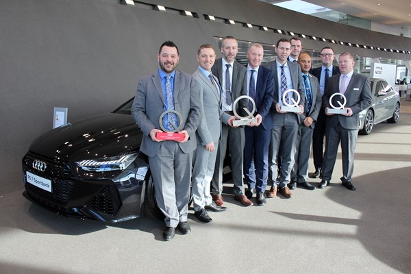 Audi Win A Suite Of Awards From Audi UK