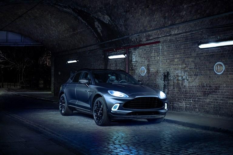 Aston Martin premieres customised DBX
