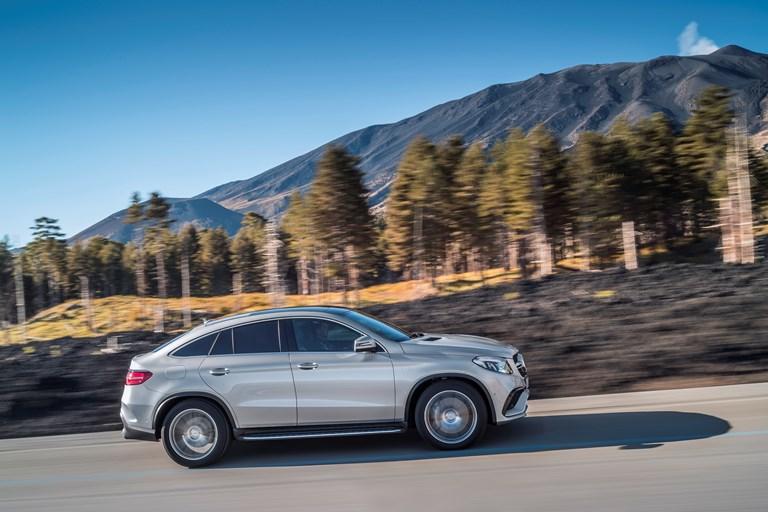 Mercedes AMG unveils sleek, electrified GLE 63 coupé