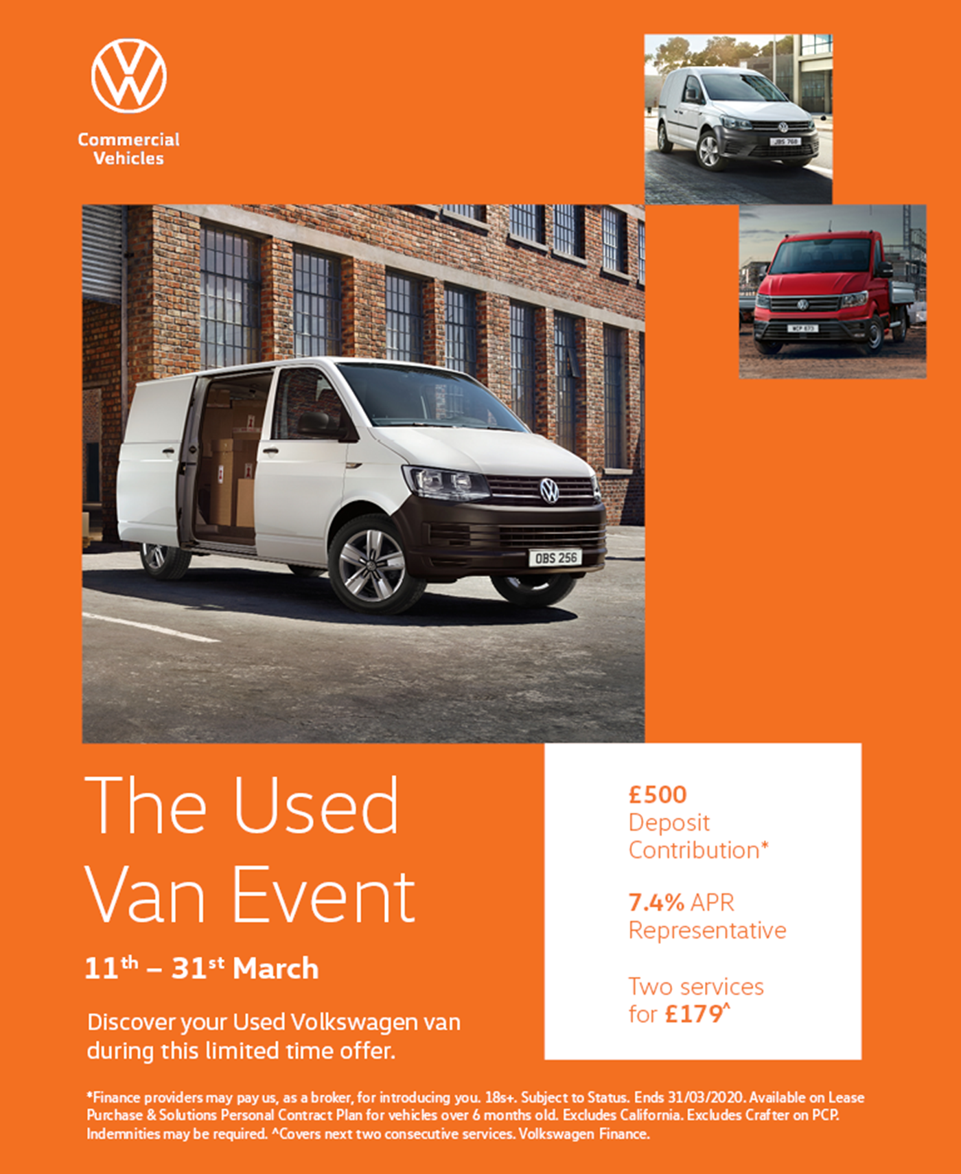 SMV Commercials Yeovil - VW Commercial Vehicle Used Van Event
