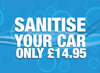 Sanitise Your Car