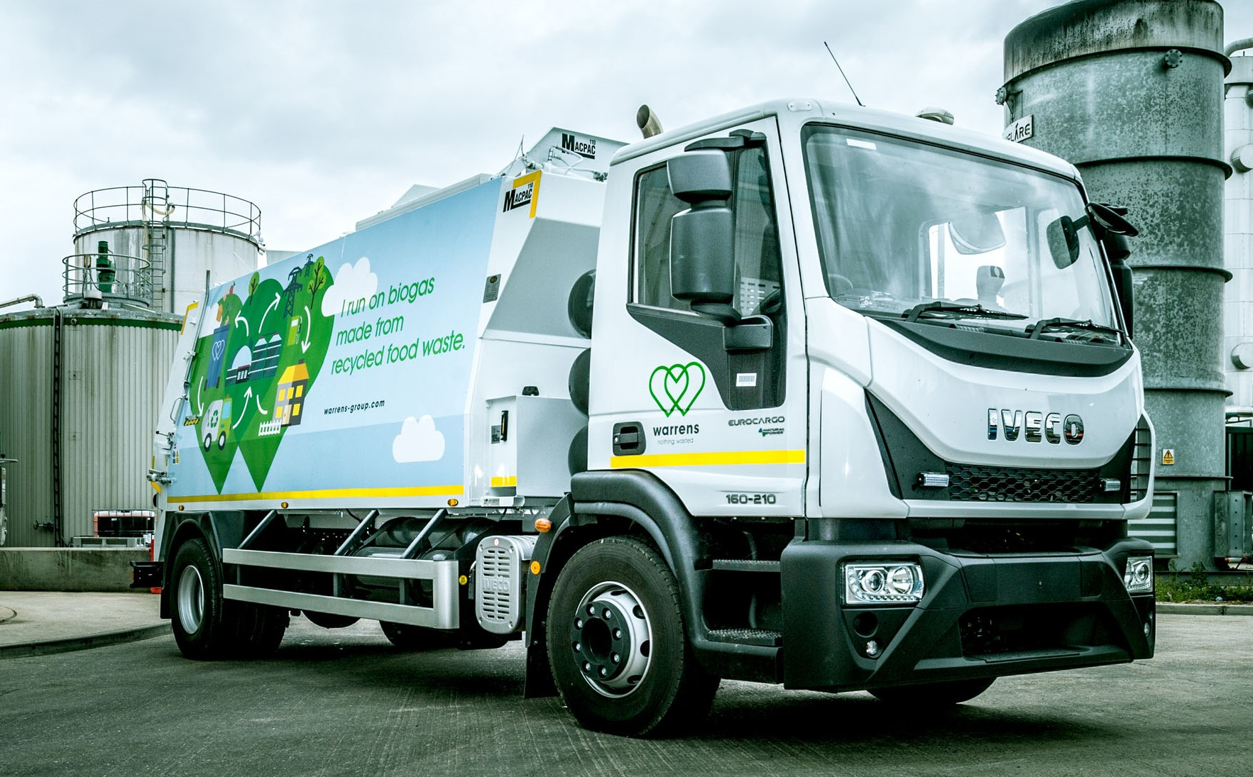 North East fleets transformed with the introduction of IVECO CNG vehicles