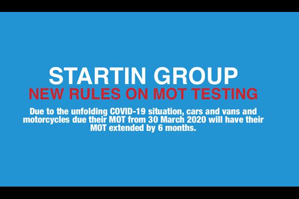 New rules on MOT testing for light vehicles