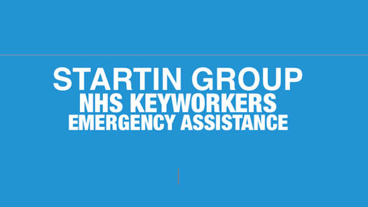 Startin Group NHS Key Workers emergency assistance.