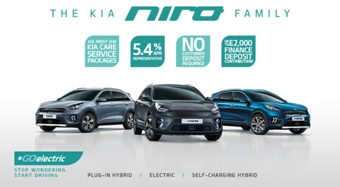 Niro Family with 5.4% APR and up to £2,000 deposit contribution