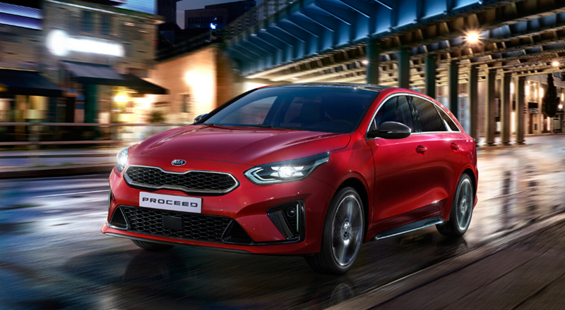 Kia ProCeed with up to £2500 deposit contribution