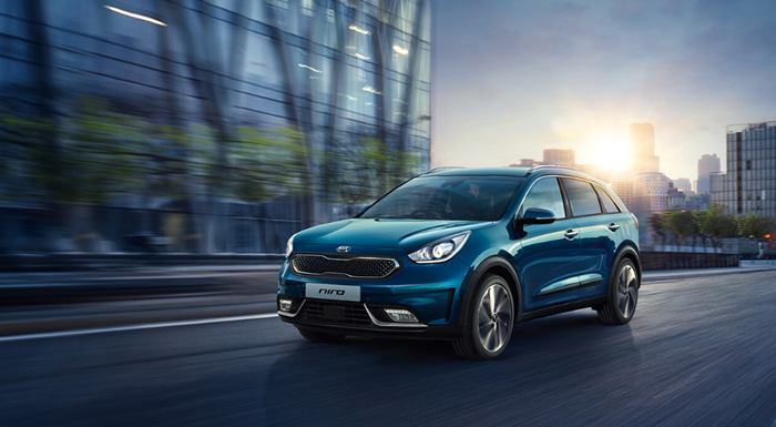 Kia Niro Self-Charging Hybrid with up to £2000 deposit contribution
