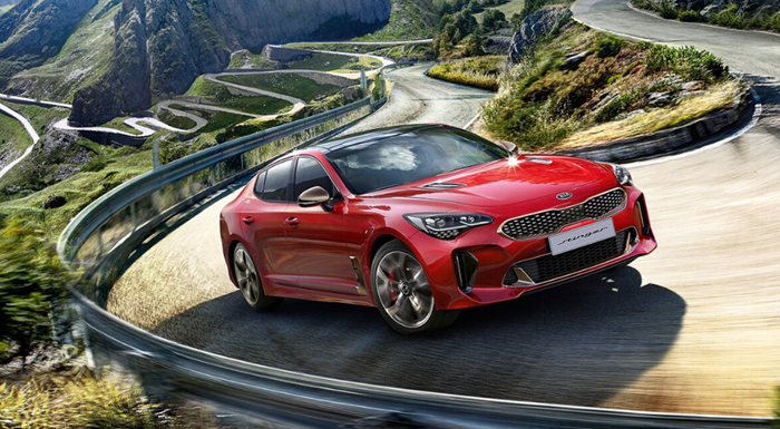 Kia Stinger from £299 per month