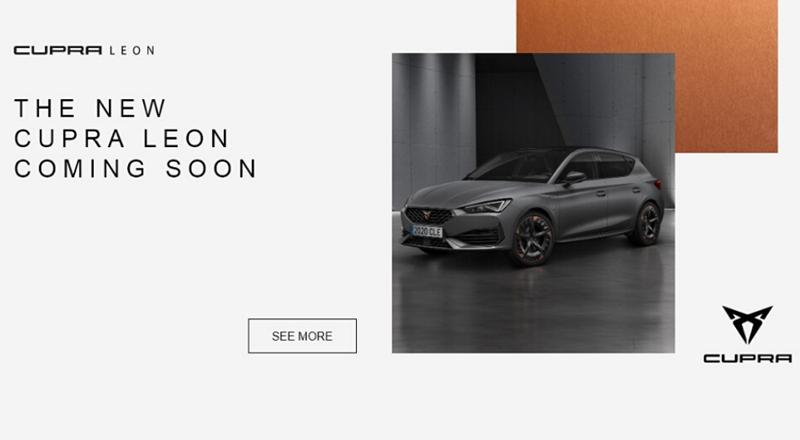 New CUPRA Leon - Register your interest