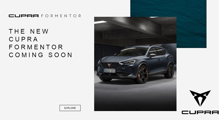 New CUPRA Formentor - Register your interest