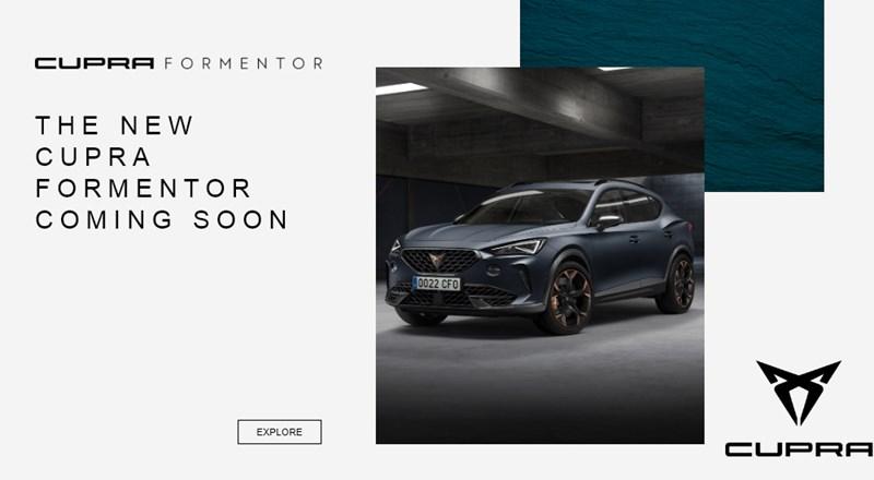 New CUPRA Formentor - Register your interest
