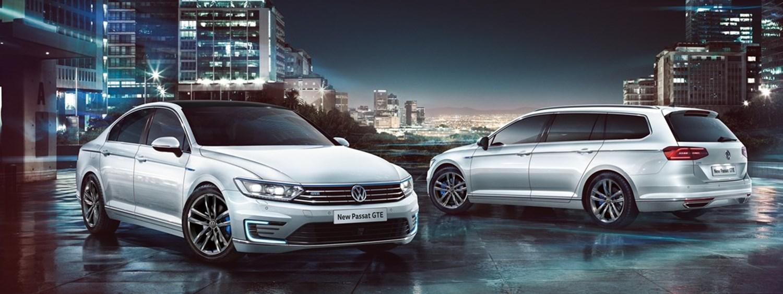 Silver Volkswagen Passat GTE & Passat GTE Estate