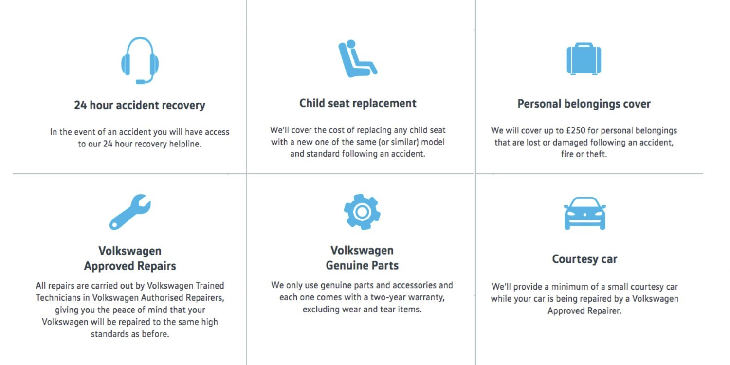 Vehicle protection summary and logos