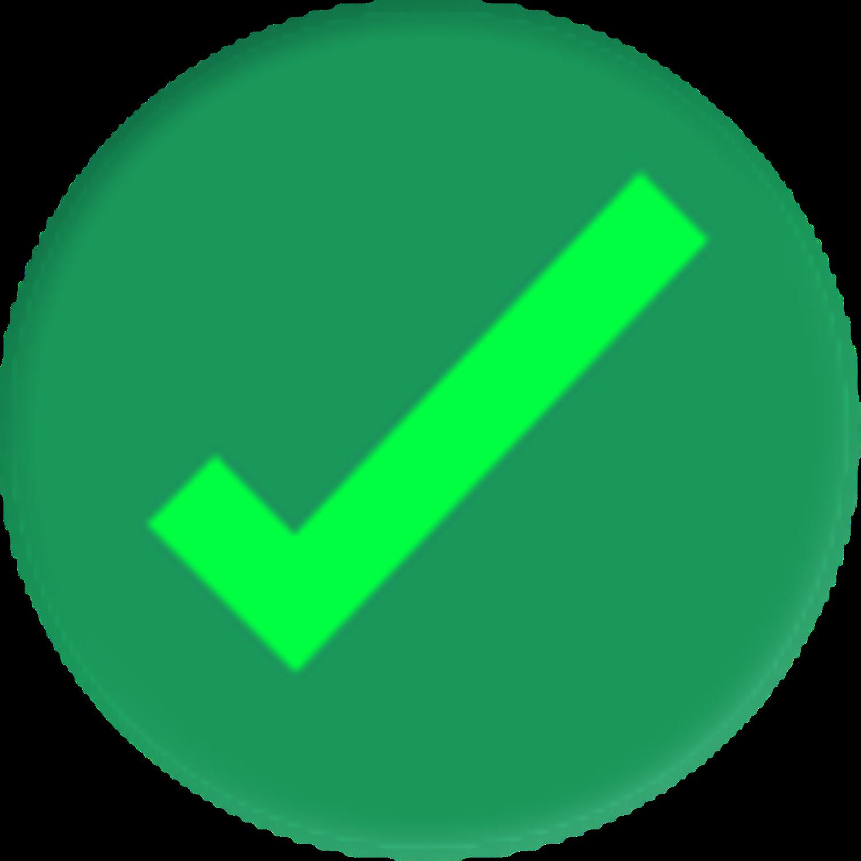 Green tick
