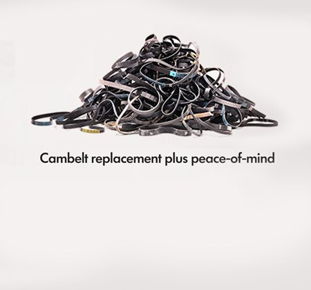 Pile of cambelts